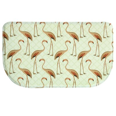 Monatuk Flamingo Green/Yellow Area Rug