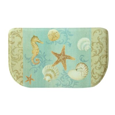 Evansville Ocean Kitchen Blue Area Rug
