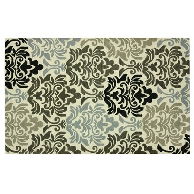Stahlman Gray Area Rug Rug Size: Rectangle 5 x 73