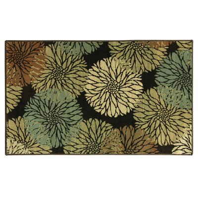 Stahlman Blossom Beige/Green Area Rug Rug Size: Rectangle 5 x 73