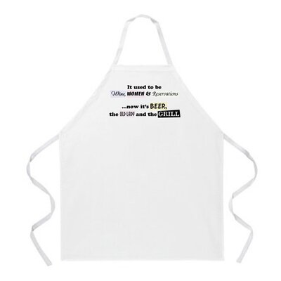 Wine, Women and Reservations Apron