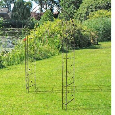 Rosenbogen Hekla | Garten > Pflanzen > Pflanzkästen | Metall - Holz | Caracella
