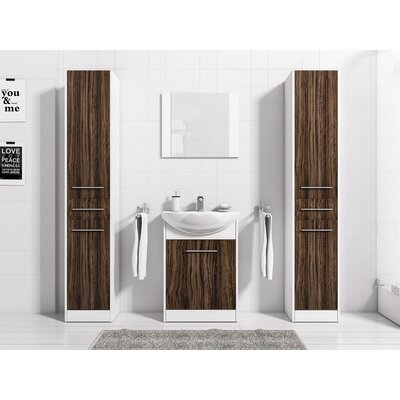 4 Piece Bathroom Furniture Set