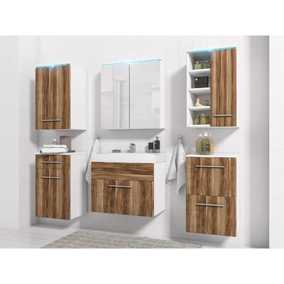 6 Piece Bathroom Furniture Set