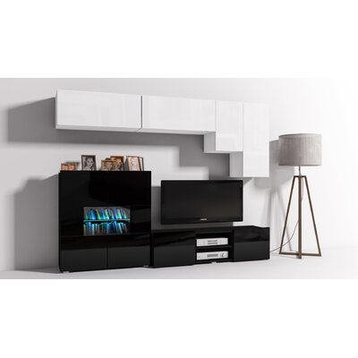 "Modern 6 Piece TV Unit for TVs up to 60"" at Wayfair"