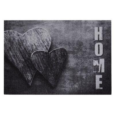 Fußmatte | Heimtextilien > Fussmatten | Dark gray | Naturfaser - Kunststoff | dCor design