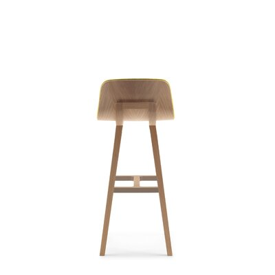 Kuskoa 33 Bar Stool in , 33 in , Sandy Oak