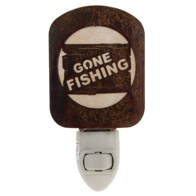 Gone Fishing Night Light