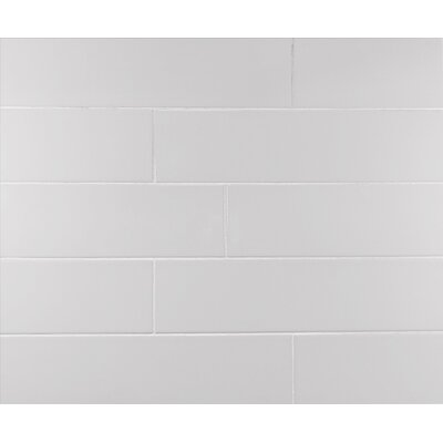 Classic 4 x 16 Subway Tile in Warm Gray