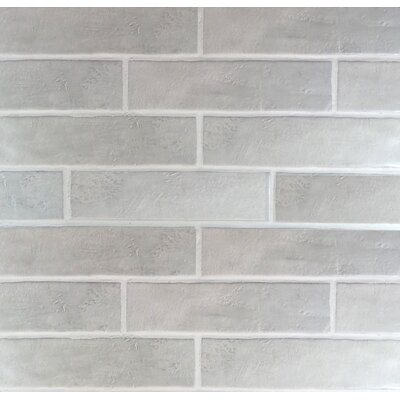 Loft 4 x 16 Ceramic Subway Tile in Gray