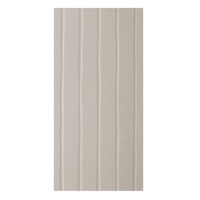 Conran Flow 10 x 20 Ceramic Wall Tile in Satin Putty