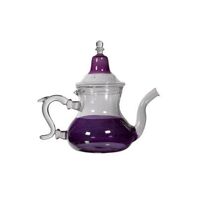 Casablanca Market Moroccan 1-qt. Glass Teapot - Color: Purple at Sears.com