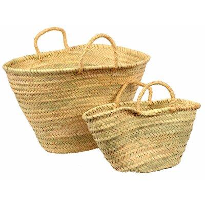 2 Piece Mother and Daughter Market Basket Set