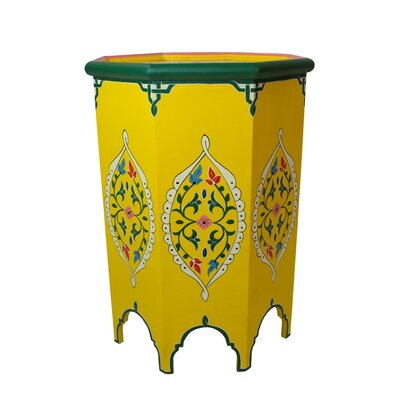 Tangier End Table Finish: Yellow