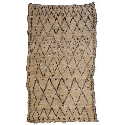 Vintage Beni Ourain Area Rug