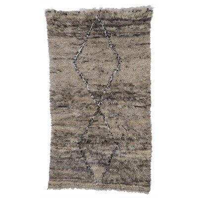 Beni Ourain Hand-Woven Grey Area Rug