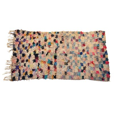 Boucherouite Carpets Hand-Woven Area Rug