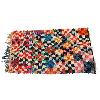Boucherouite Azilal Hand-Woven Area Rug