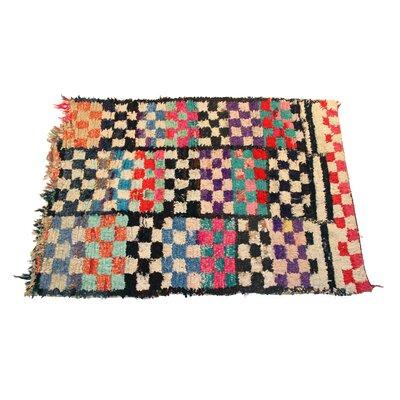 Vintage Boucherouite Azilal Carpets