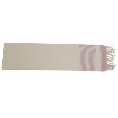 Moroccan Throw Color: Cream / Soft Pink