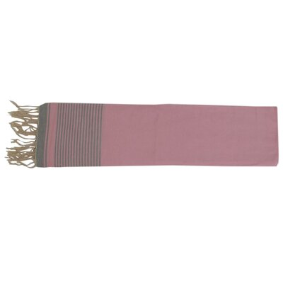 Moroccan Throw Color: Soft Pink / Baby Blue