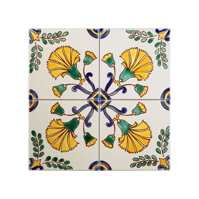 Decorative 4x4 ceramic tiles