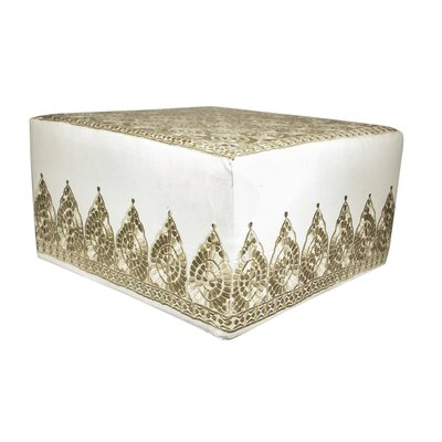 Fez Embroidered Ottoman
