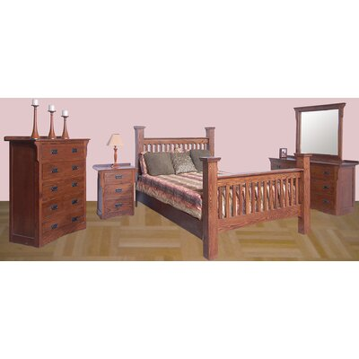 Queen Panel Customizable Bedroom Set