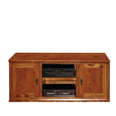 53 TV Stand Color: Honey Oak