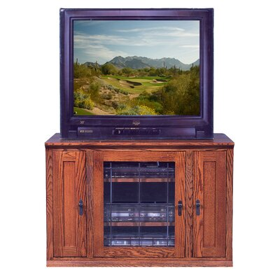 43 TV Stand Color: Red Oak