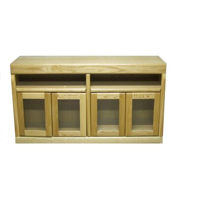 66 TV Stand Color: Golden Oak