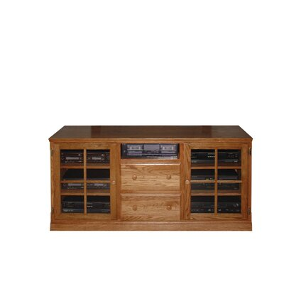 62 TV Stand Color: Honey Oak
