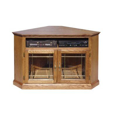 63 TV Stand Color: Honey Oak