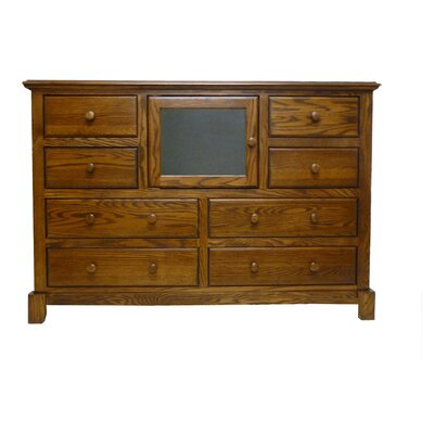 60 TV Stand Color: Antique Alder