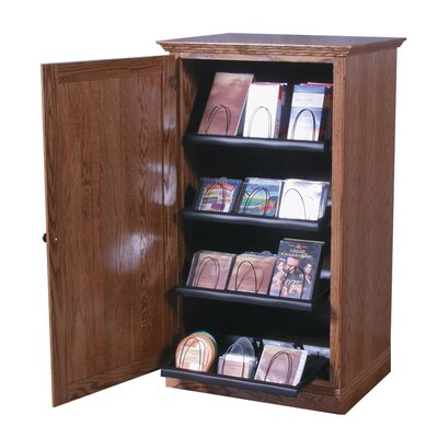 Multimedia Cabinet Finish: Chestnut Oak