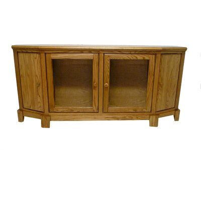 66 TV Stand Color: Coffee Alder