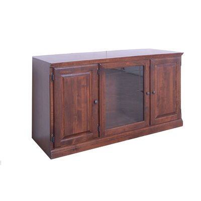 56 TV Stand Color: Honey Oak