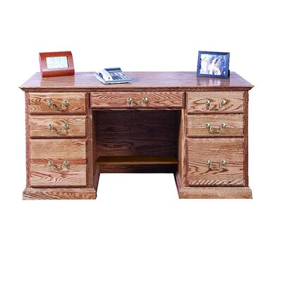 Pedestal Executive Desk Double Product Picture 284
