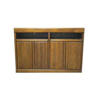 54 TV Stand Color: Honey Oak