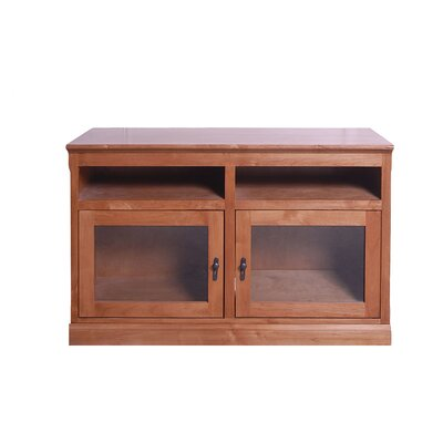 48 TV Stand Color: Black Adler