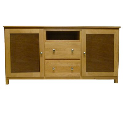 62 TV Stand Color: Black Adler