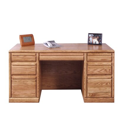 Executive Desk Right Left Drawers 1356 Product Photo