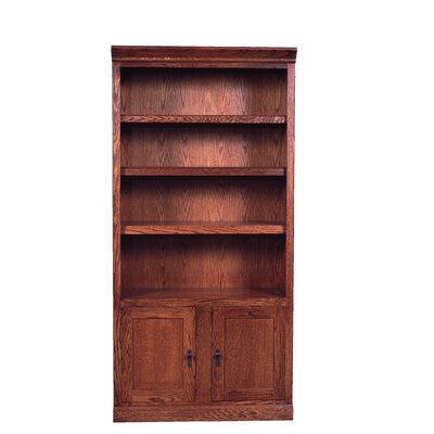 Mission Bookcase Lower Doors Standard Bookcase Image 641