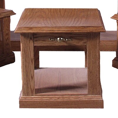 End Table Finish: Chestnut Oak