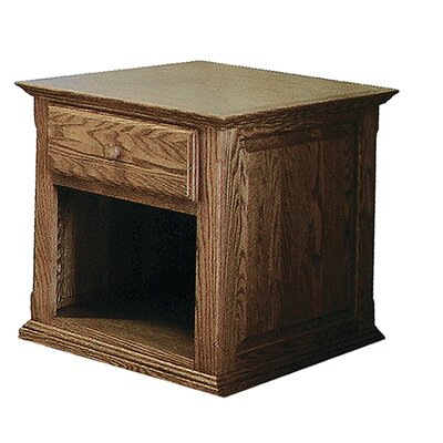 End Table Finish: Black Adler