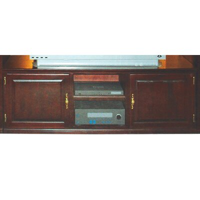 58 TV Stand Color: Honey Oak