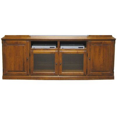 80 TV Stand Color: Antique Alder