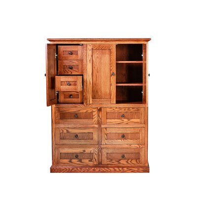 Mission Armoire Finish: Red Oak