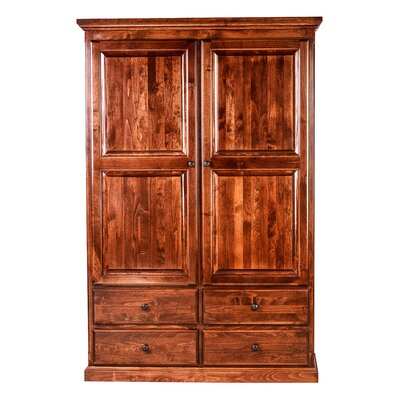 Armoire Finish: Red Oak