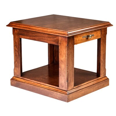 26 H End Table Color: Antique Alder